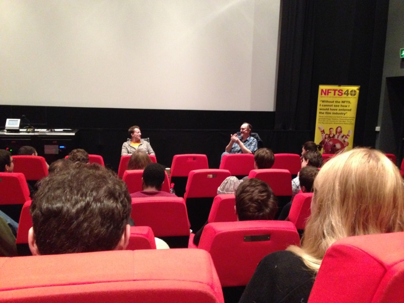 Simon Beaufoy at the NFTS