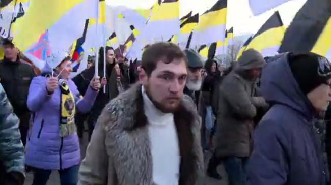 Reggie Yates Extreme Russia March