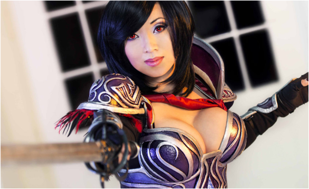 Cosplay Gamers woman 3